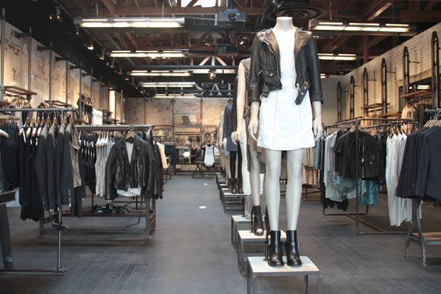 AllSaints, Fashion Valley Mall.