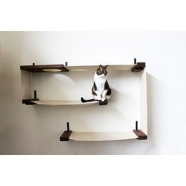 The Sophia Wall-Mounted Cat Tree - 15055590 - Overstock.com Shopping - The Best Prices on Cat Furniture