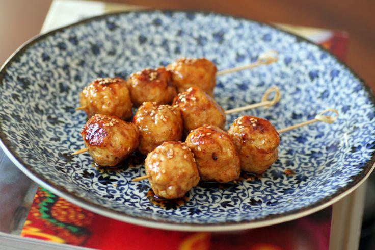 Recette de tsukune au poulet