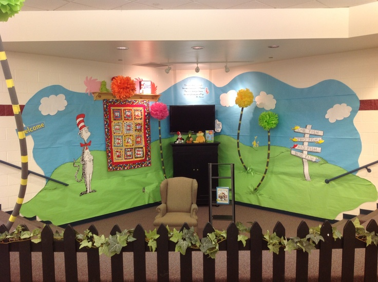 Classroom Library Ideas : Awesome dr seuss idea for the classroom library cool