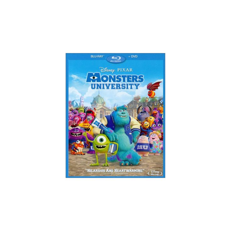 Monsters University (3 Discs) (Blu-ray/Dvd) (Widescreen), Blue