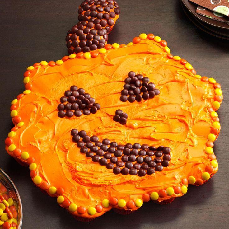 Giant cupcake pumpkin recipe easy cake decorating