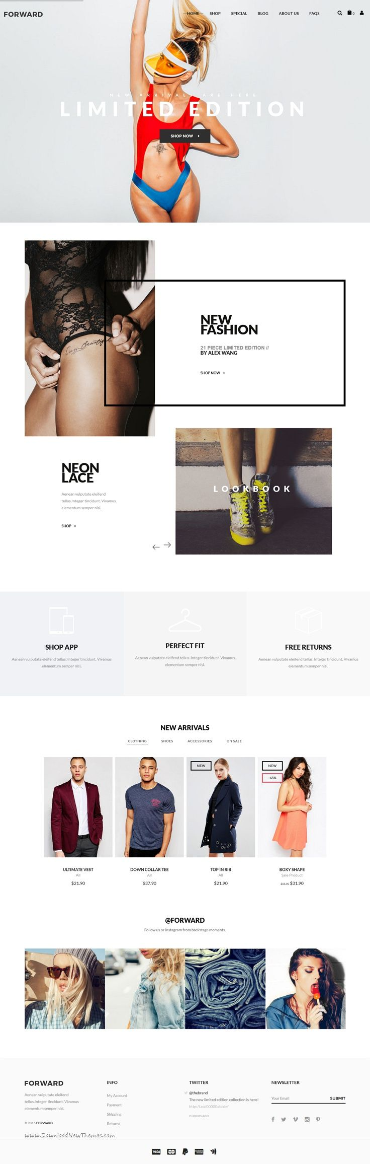 Forward is an modern and professionlly design #Magento #theme for multipurpose…
