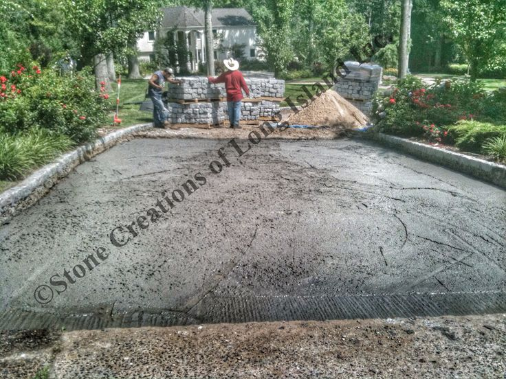 17 best images about kick up your driveway with a Base for concrete driveway