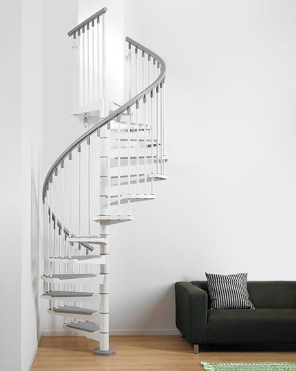 spiral staircases for small spaces - Google Search