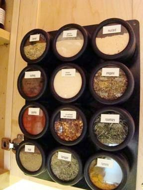 Look! Sue's Maximized Spice Storage