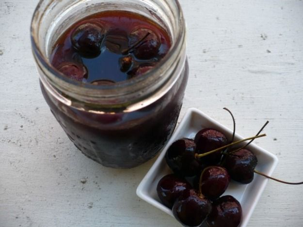 Brandied Cocktail Cherries
