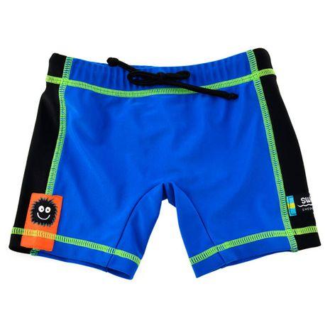 Accesorii bebelusi :: Trusoul bebelusului :: Articole de plaja :: Boxer blue black marime XL Swimpy