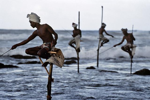 South coast, Sri Lanka, 1995, by Steve McCurry