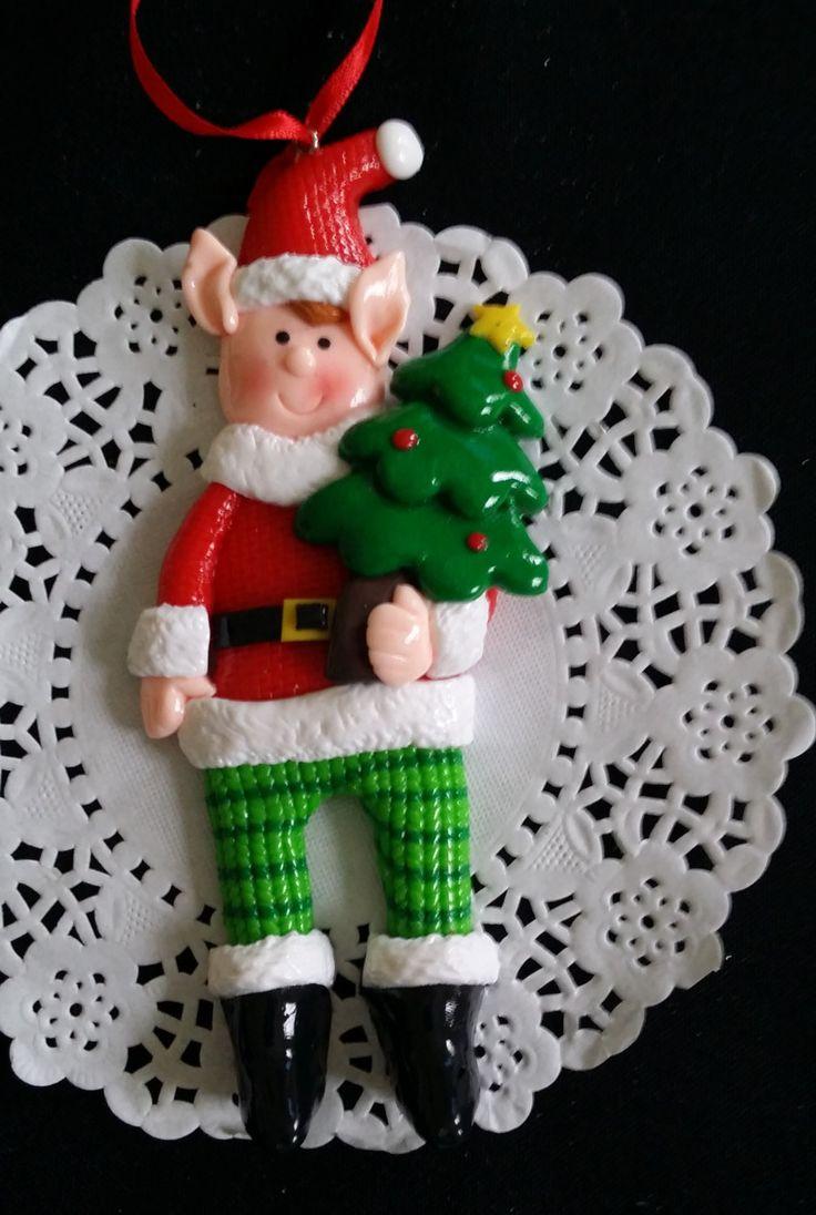 Christmas Ornament Christmas Elf Ornaments Elves Ornaments
