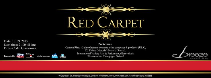 Image result for red carpet cover