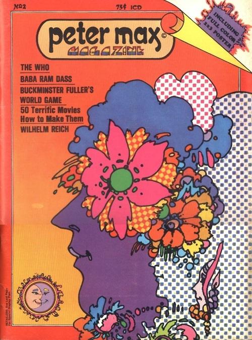 Peter Max - Magazine #2  1970