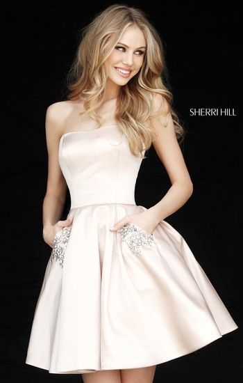 13185beb657 Sherri Hill 51390 is the perfect dress for homecoming or other special  occasions.