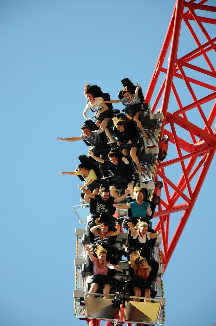 For Tris & Mike...I'll watch from the ground. Dreamworld - Gold Coast, Australia