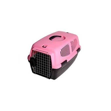 Caixa de Transporte Gulliver Rosa Chalesco - é uma ótima opção para transportar seu Cachorro durante os passeios e principalmente viagens de carro e até mesmo aéreas. Feita com plástico resistente, grade de metal, alça de mão e ainda conta com diversas fendas para fácil ventilação do Pet. Lembre-se que o Tamanho 1 suporta de 5 a 6kg e o Tamanho M suporta até 10,5kg. MeuAmigoPet.com.br #petshop #cachorro #cão #meuamigopet