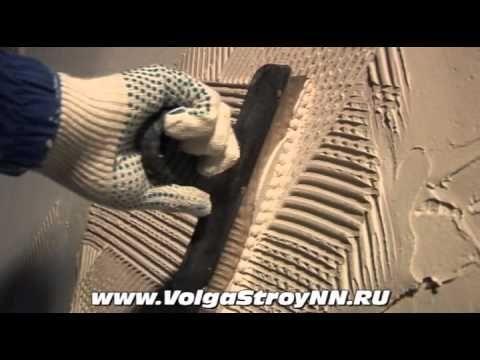 Штукатурка стен своими руками, выравнивание стены.