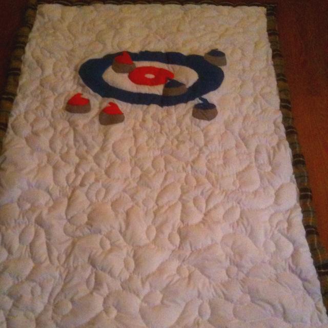 Curling quilt