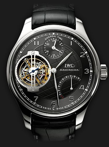 IWC Schaffhausen   Fine Timepieces From Switzerland   Collection   Portuguese Sidérale Scafusia   Portuguese Sidérale Scafusia
