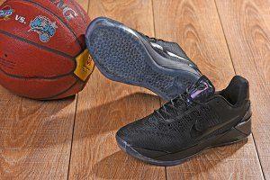 72d81dbed51a Men s Nike Kobe AD Mamba Triple Black Kobe Bryant boys Basketball Shoes