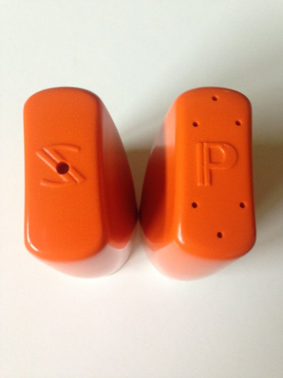 Vintage 1970's Salt And Pepper Shakers by QueSeraVintageGoods