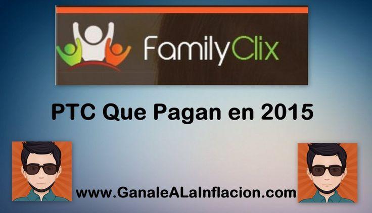 FamilyClix,una ptc que paga en 2015