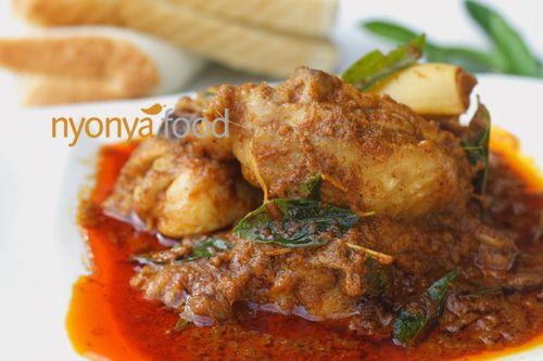 Chicken Curry -nyonya recipe -Malaysian