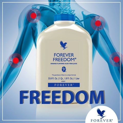 Forever Freedom® has all the benefits of Aloe Vera Gel in a tasty, orange-flavored juice formula!  We've taken Glucosamine Sulfate and Chondroitin Sulfate that have been shown to help maintain healthy joint function and mobility.  https://www.youtube.com/watch?v=DHlvmHeT760 http://360000339313.fbo.foreverliving.com/page/products/all-products/1-drinks/196/usa/en Need help? http://istenhozott.flp.com/contact.jsf?language=en Buy it http://istenhozott.flp.com/shop.jsf?language=en