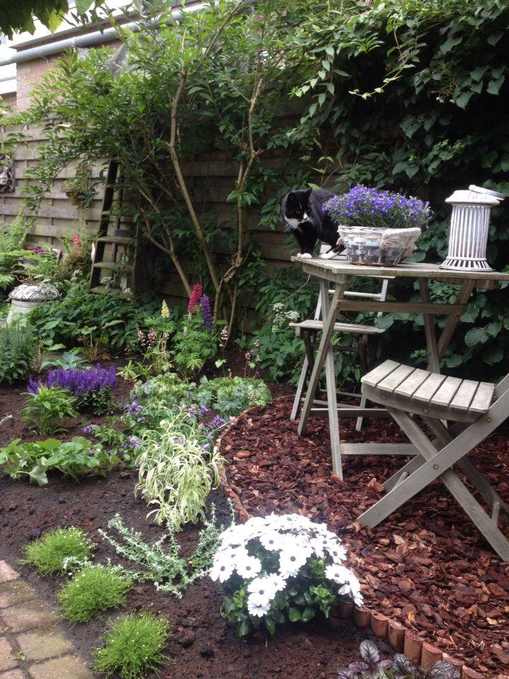Her laatste stukje tuin ook eindelijk klaar!