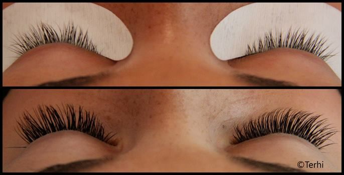Natural looking and beautiful lashes by Terhi