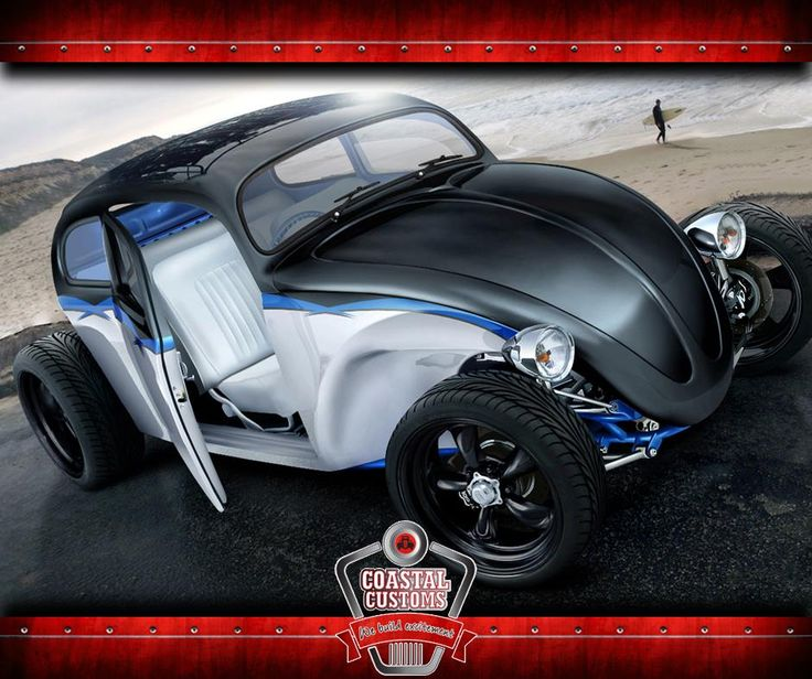 Coastal Customs will be returning to the office next week, but in the mean time take a look at this Xtreme Hot Rod we found. Built on a VW Volksie chassis, with thick tyres. What do you think? #cars #auto #classics