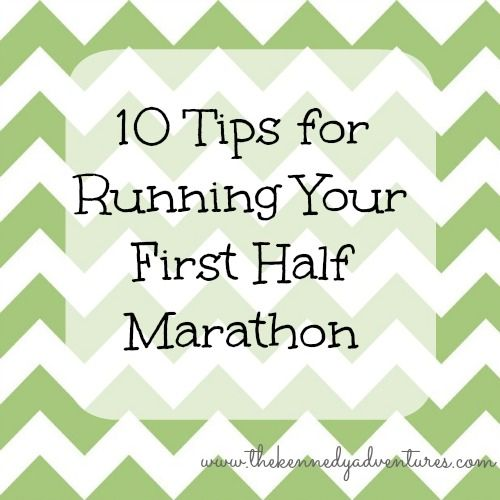 10 Tips for running your first 1/2 marathon