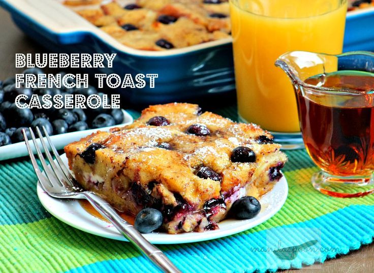 Get ready with a yummy weekend brunch with this scrumptious OVERNIGHT BLUEBERRY FRENCH TOAST CASSEROLE! Juicy berries, crunchy walnuts plus yummy cream cheese and warmed up maple syrup make this a fantastic breakfast or brunch dish!  #blueberryfrenchtoastcasserole   #luvfood   #brunch   #manilaspoon