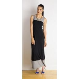 Tiffany Dress, Oyster/Black, XL : P'LOVERS