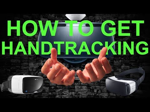 How To Get Hand Tracking On Gear VR or Google Cardboard (How to set up H...