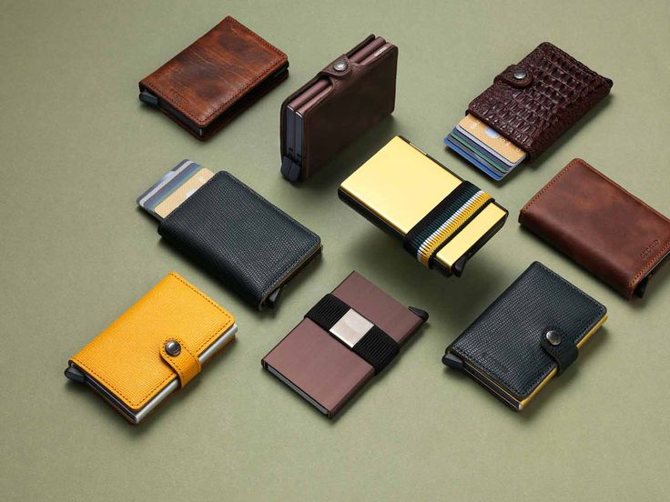 Accessories Photography by Frank Brandwijk for Secrid I 'Mini Wallet, Cover'