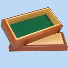 Lovely Red/Brown Rose Mahogany box with a Huon Pine lid. Hand crafted in Australia.