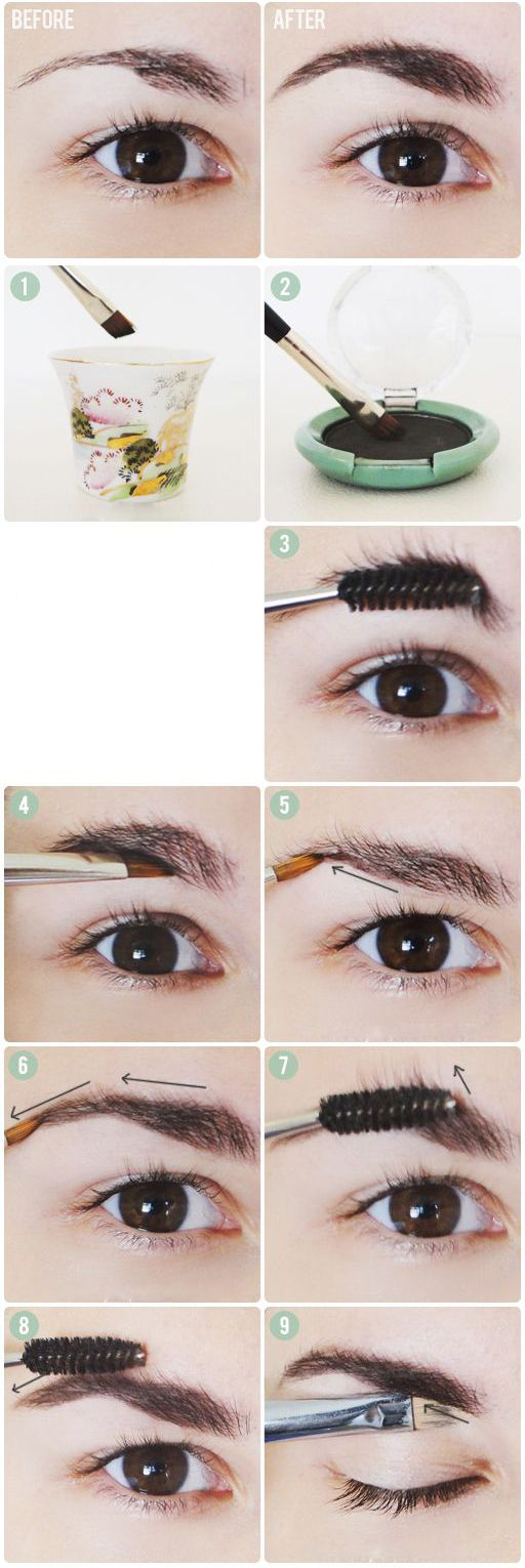 Fix Eyebrow Mistake With Some Color | Beauty, Health, Travel and Technology News and Local Services