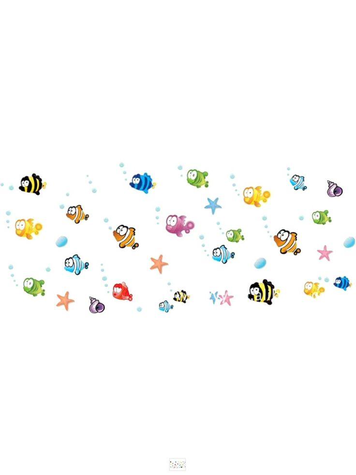 #stickers #kids #playroom #fish