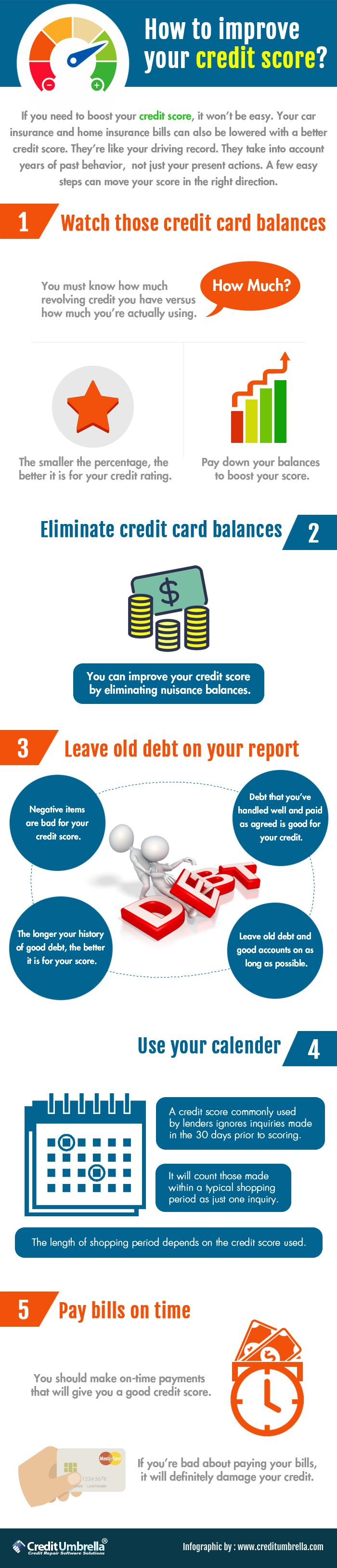 Improving Your Credit Score Is Extremely Essential Certain Tips Should  Always Be Kept In Mind