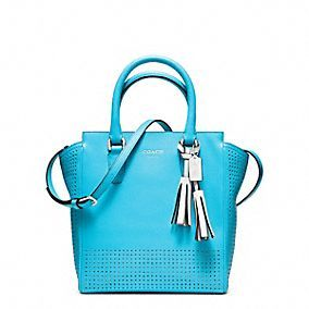 LEGACY PERFORATED MINI TANNER CROSSBODY Love this color! Robin!