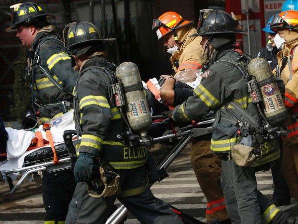 Building explosion in Harlem (© Shannon Stapleton/Reuters)
