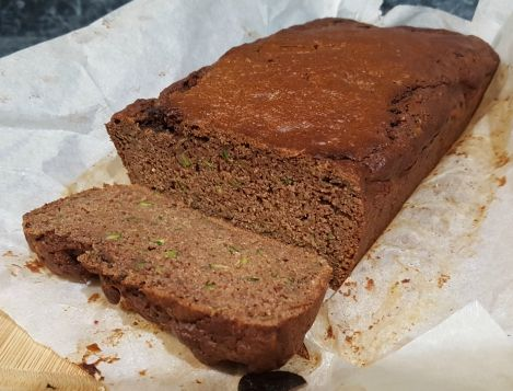 Zucchini Cacao Loaf