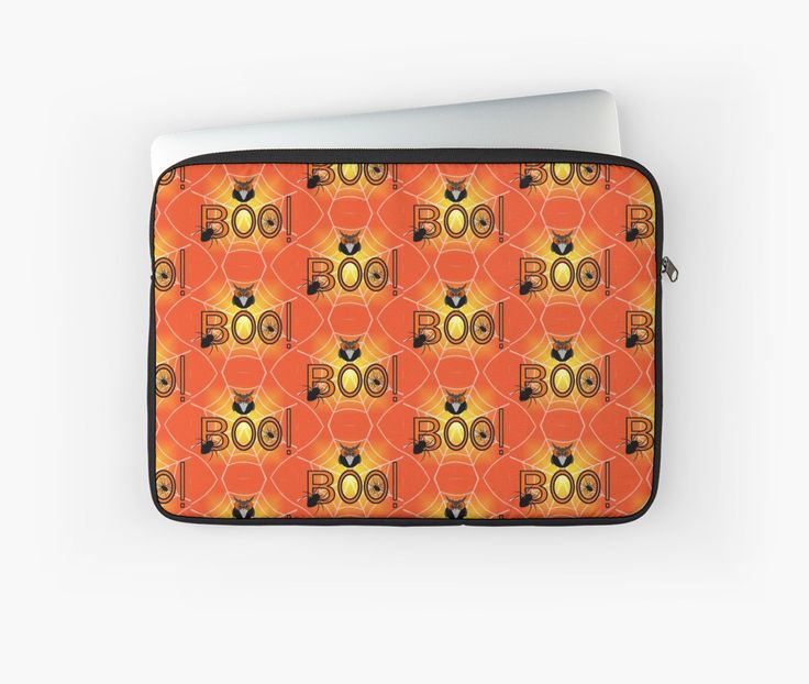 A new and funny laptop sleeve, perfect for #Halloween @redbubble