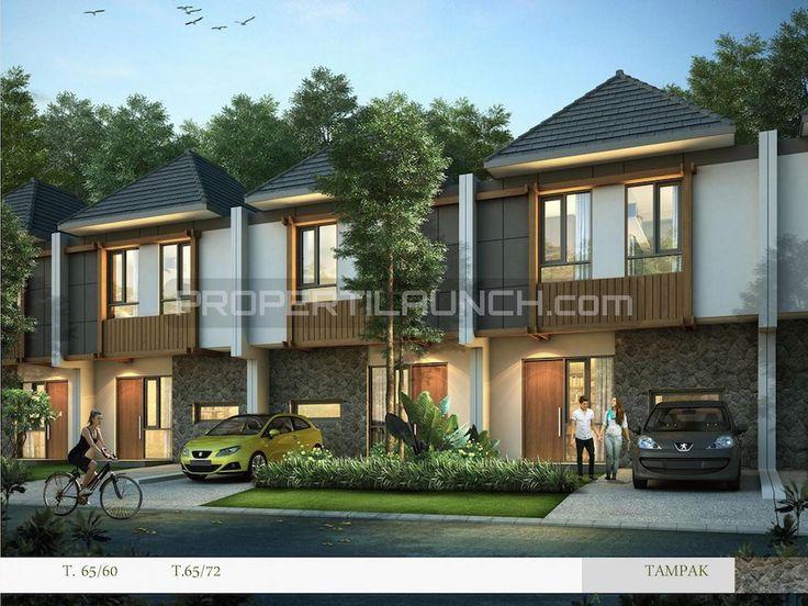 Tipe rumah cluster Kireina Park BSD City.