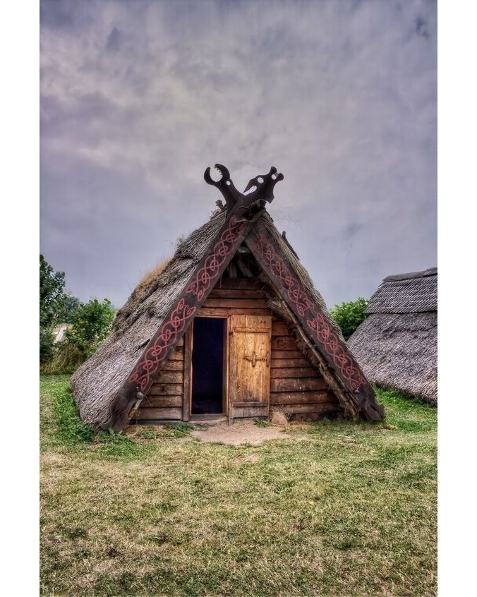 Norse Home Life Would You Live Here Vikingshoes Vikingfootwear Vikingbad Vikingontour Heathen Viking House Vikings Viking Camp
