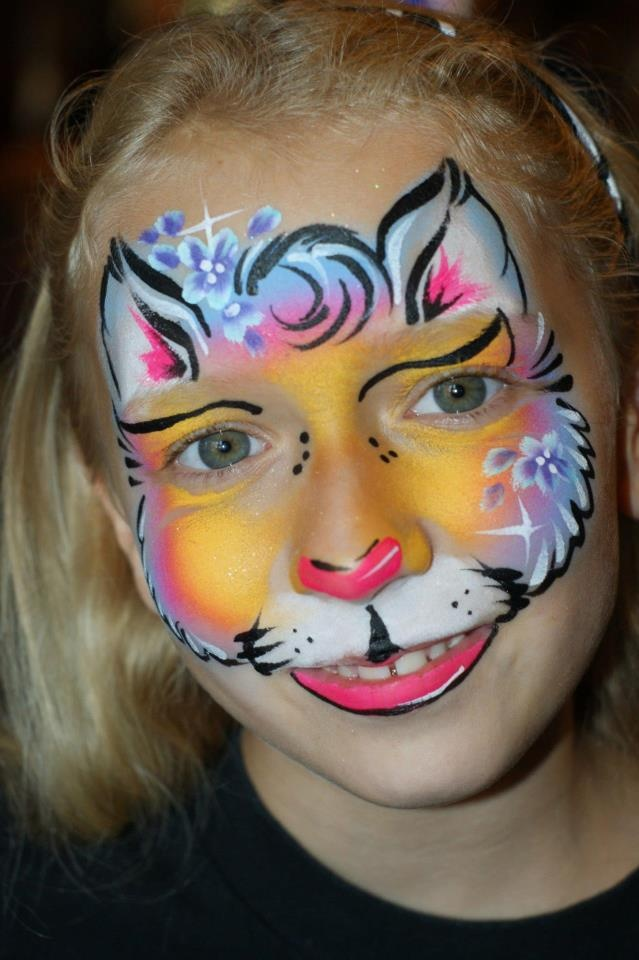 72 best images about face paint full face designs on for Pretty designs to paint
