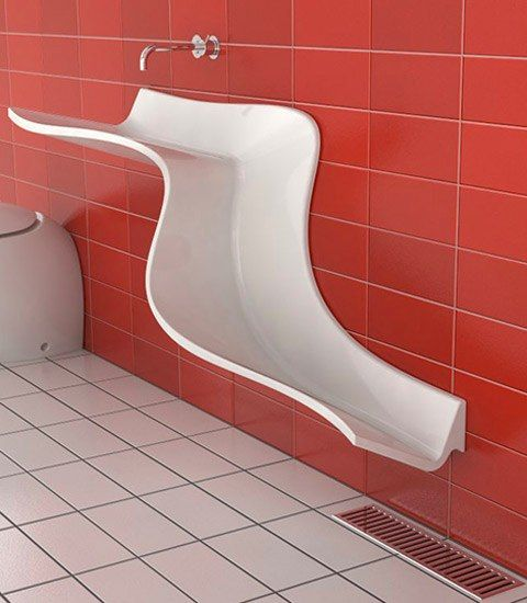 I thought this was a contemporary urinal. Oops.