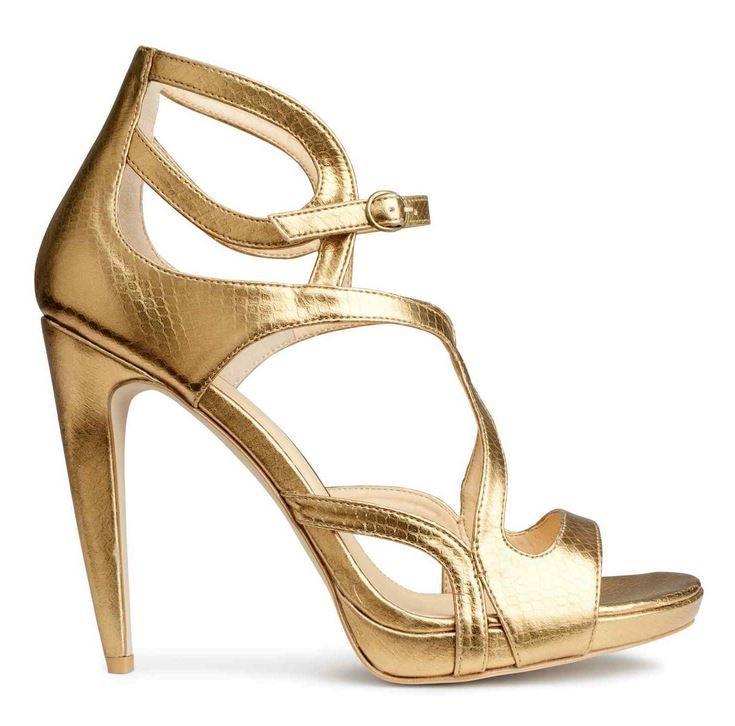 Sandali estivi 2015: come sceglierli secondo i Trend di Stagione sandali estivi 2015 HM oro