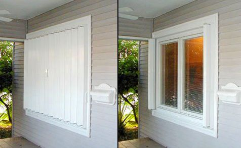 Hurricane Shutters - Buy Factory Direct and Save
