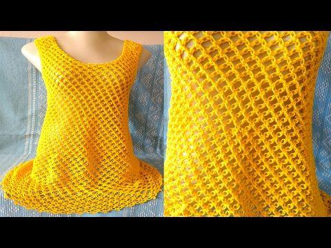 Ponto de Crochê Rendado com Argolas - Aprendendo Crochê - YouTube